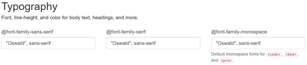 Die Google Font hinterlegen