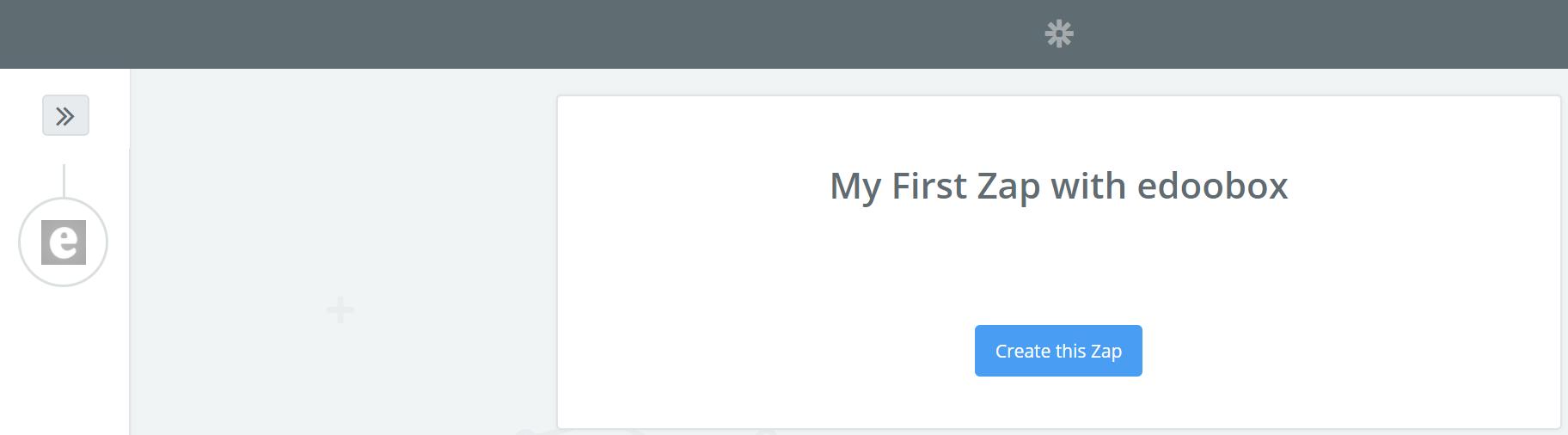First Zap estellen